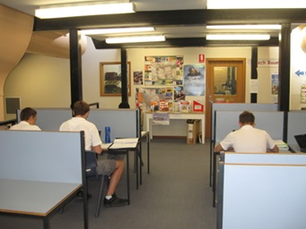 The Senior Study Area
